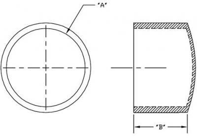 פקק פלסטיק חיצוני עגול 12X3